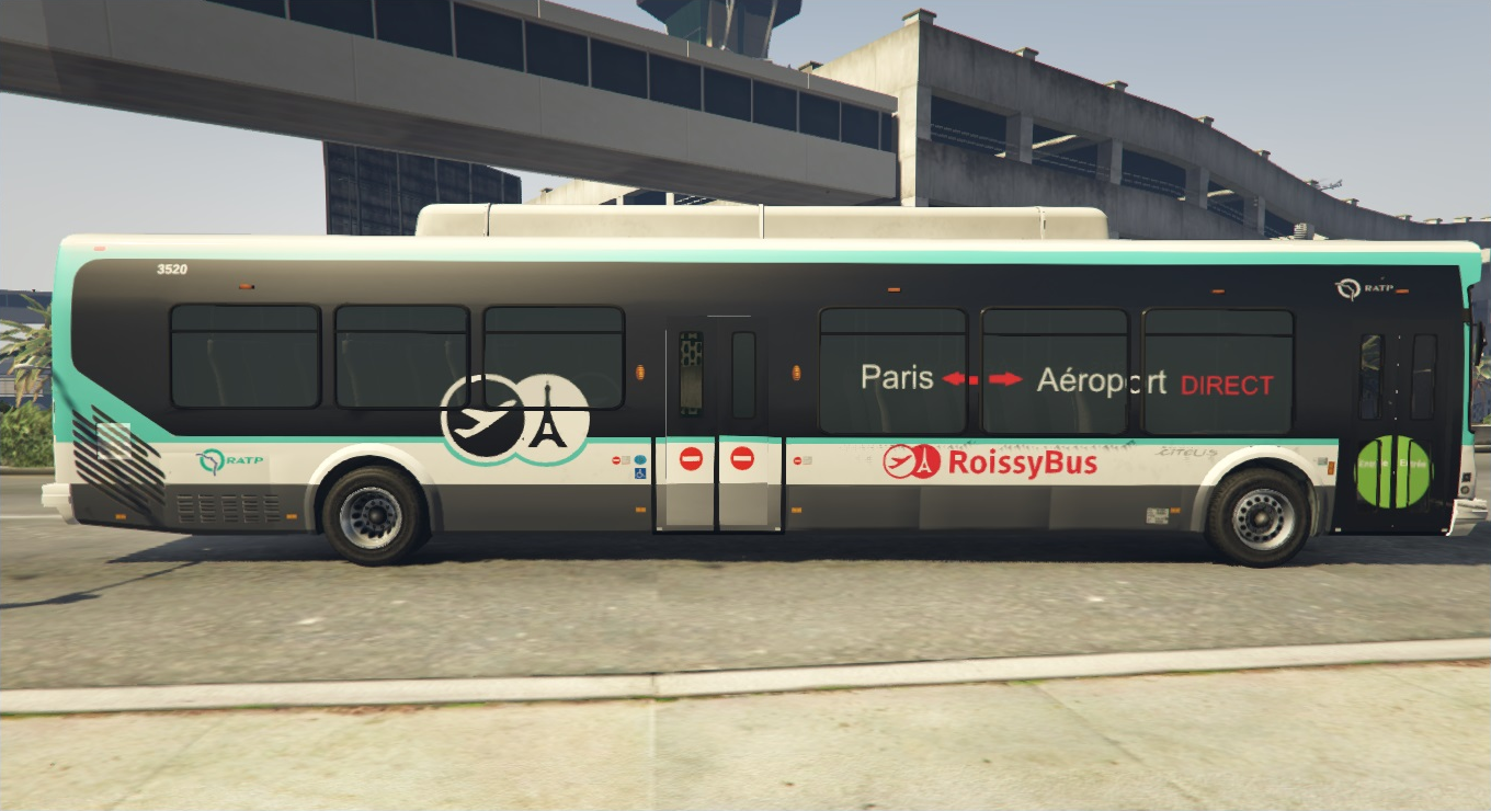 roissy bus ratp gta5. Black Bedroom Furniture Sets. Home Design Ideas