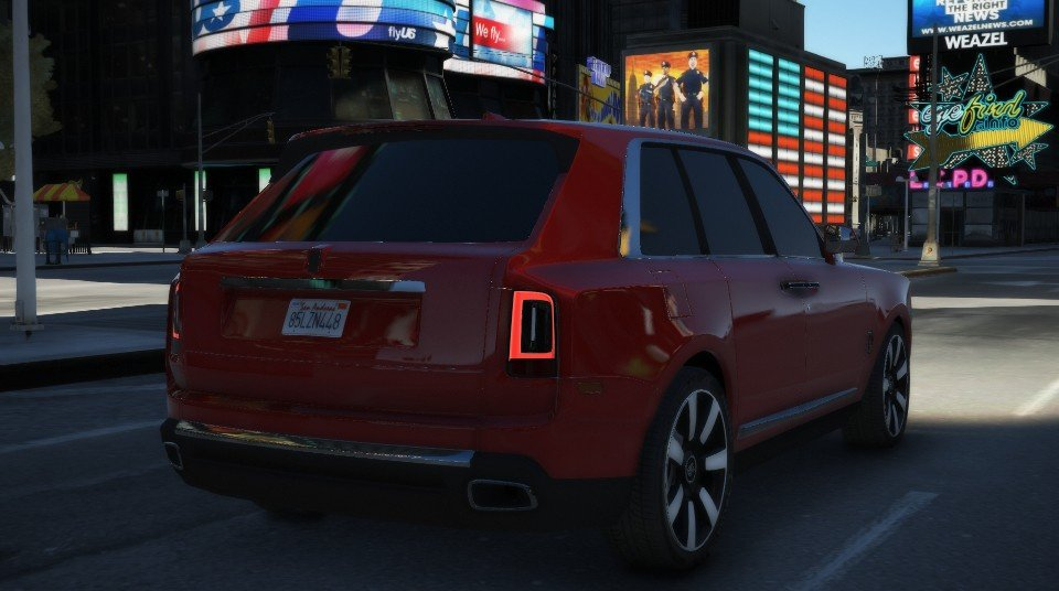 rolls royce cullinan 2019 add on replace gta5. Black Bedroom Furniture Sets. Home Design Ideas