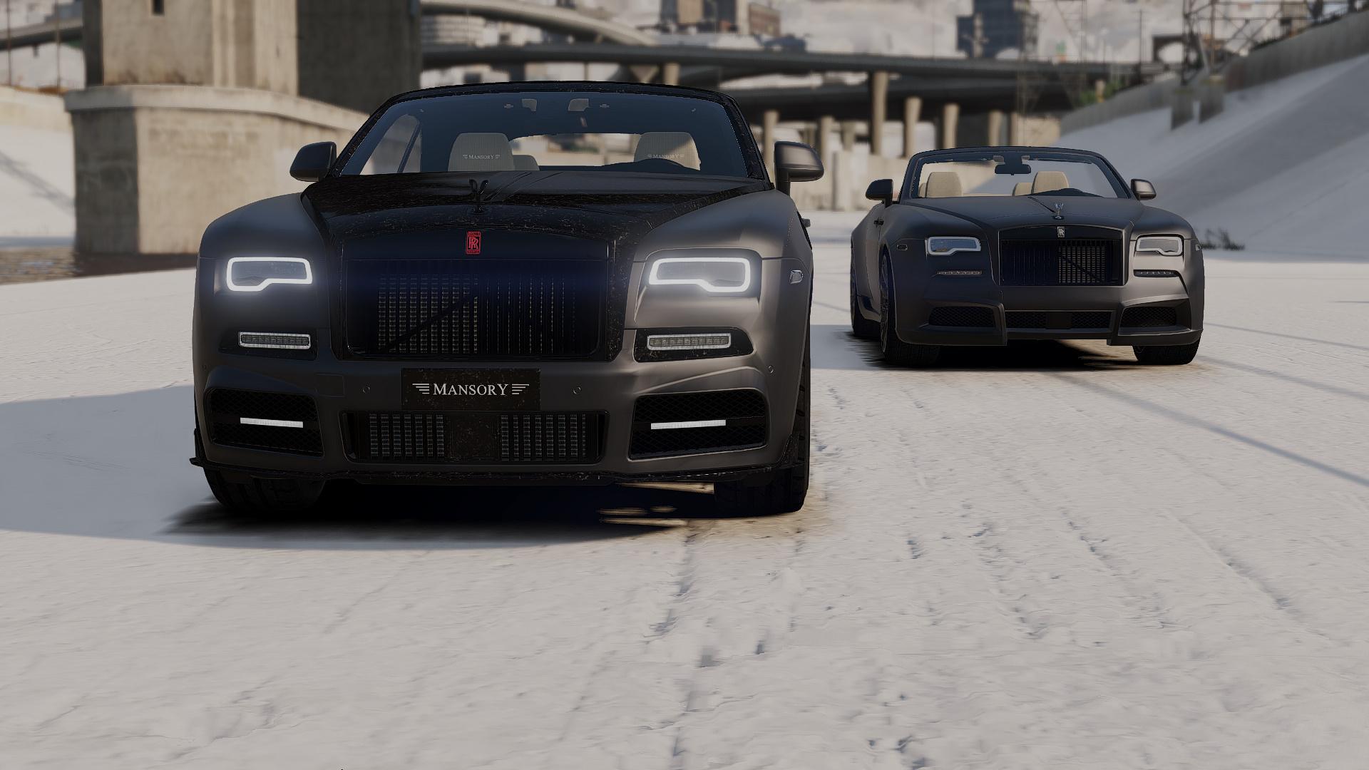 Rolls Royce Dawn Mansory Gta5 Mods Com