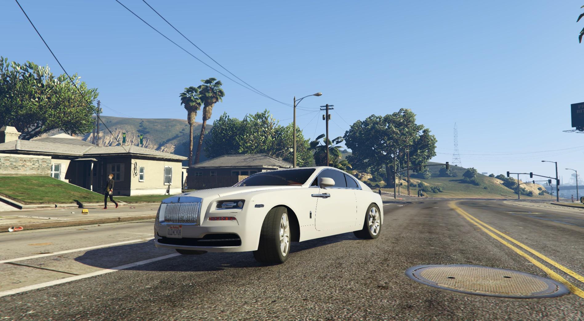 Rolls Royce Wraith 2015 Gta5 Mods Com