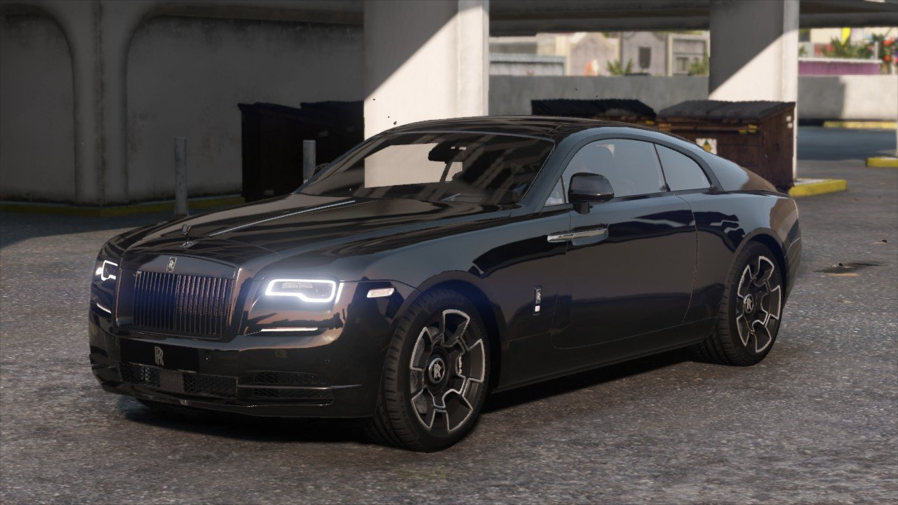 2019 Rolls Royce Wraith Black Badge Add On Logo Animated Gta5 Mods Com