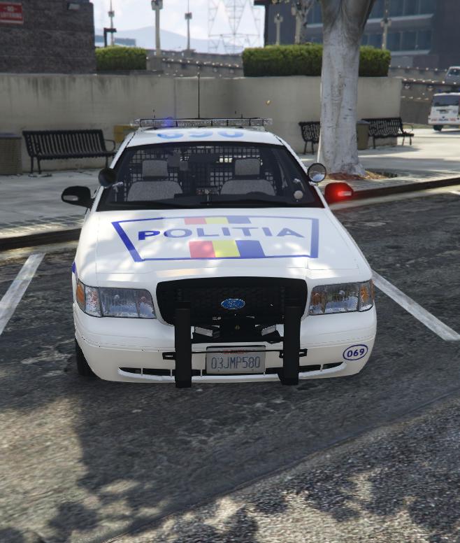 Politia Romana / Romanian Ford Crown Vic Police Car