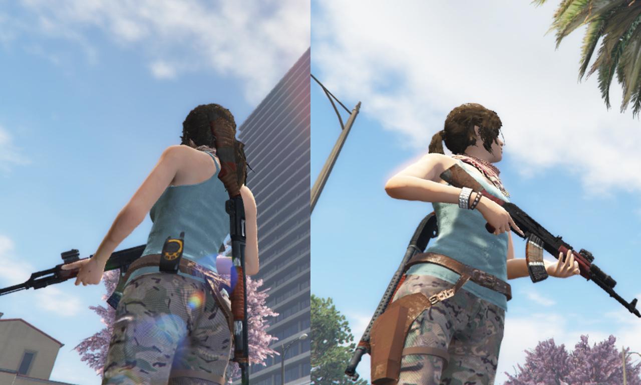 Shadow Of The Tomb Raider Lara Croft enhanced textures