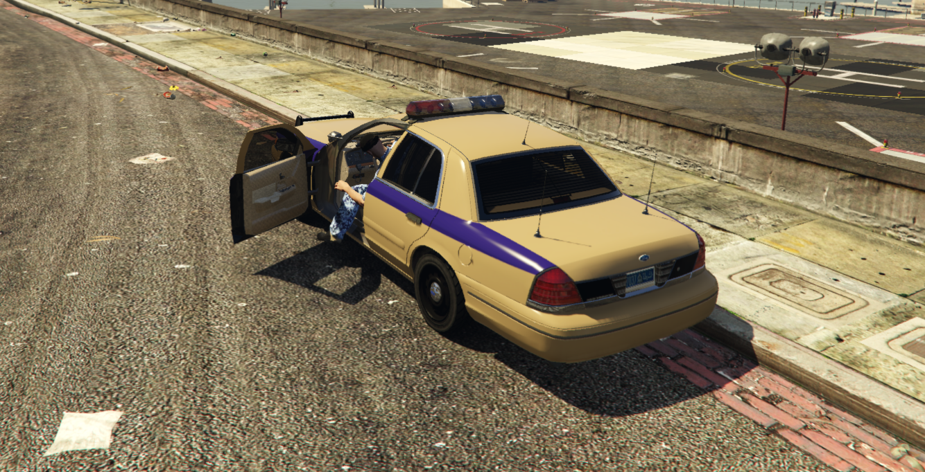 royal oman police ford crown victoria  replace