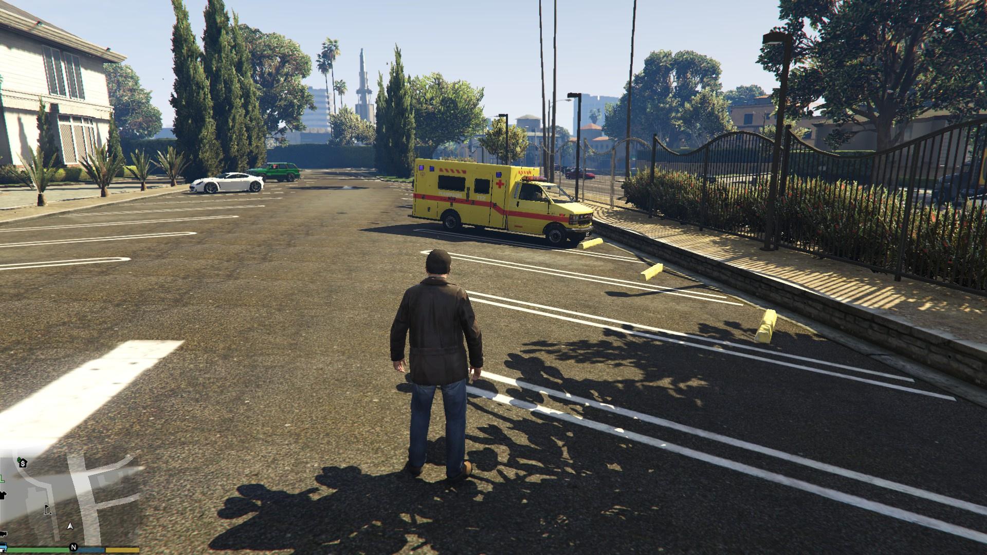 Russian ambulance gta5 for The russian mod