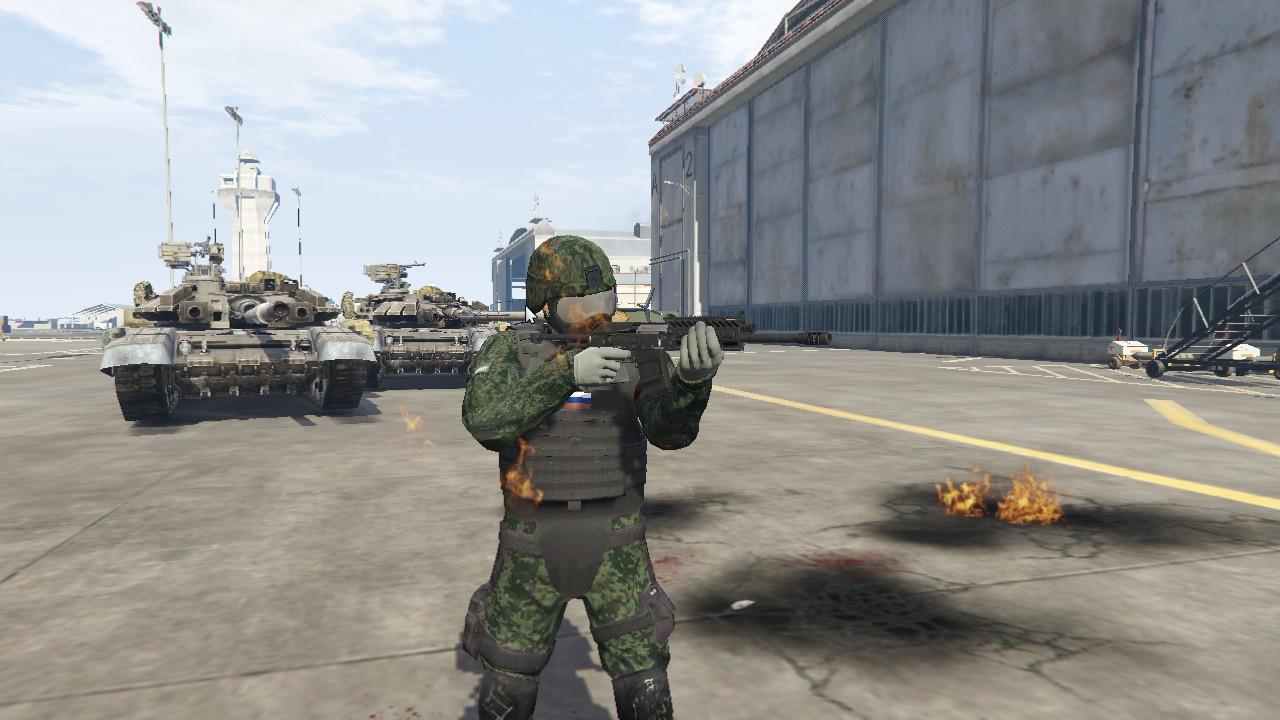 Russian Soldier Gta5
