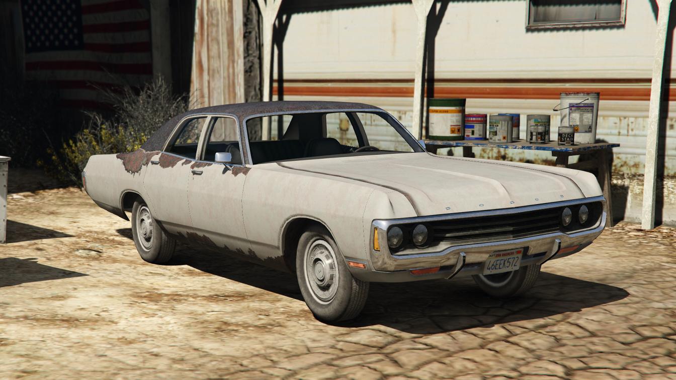Rusty 71 Dodge Polara Civilian and Ex Police - GTA5-Mods.com