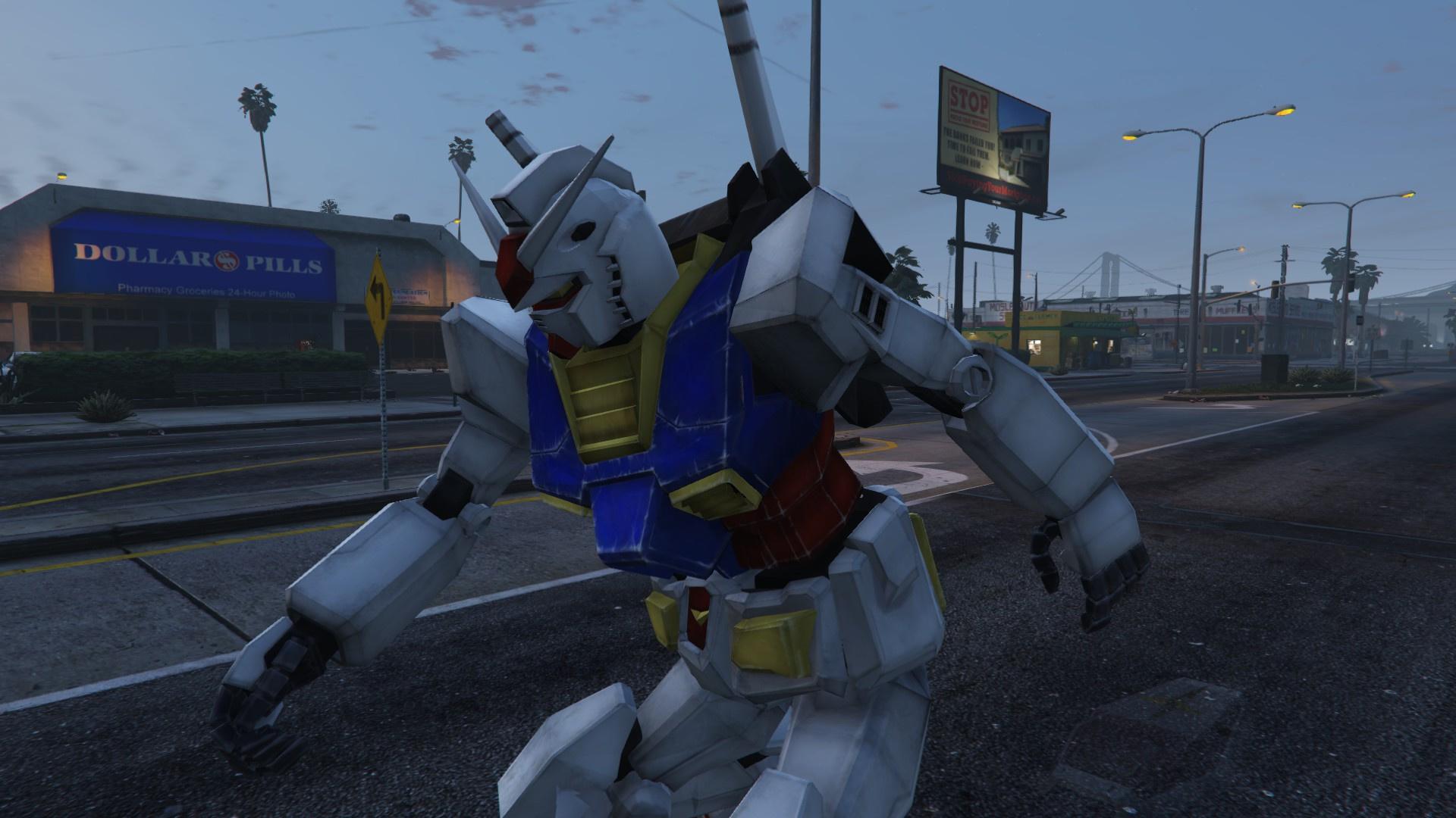 Rx 78 2 Gundam Add On Replace Gta5 Mods Com