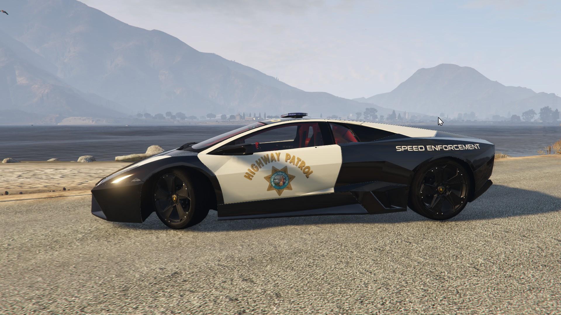 Sa Highway Patrol Lamborghini Revent 243 N Gta5 Mods Com