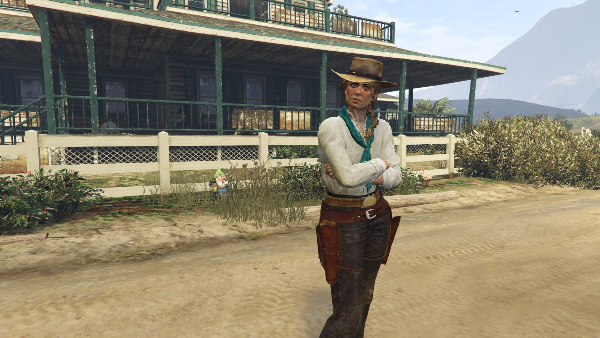 Sadie Adler Red Dead Redemption 2. - GTA5-Mods.com