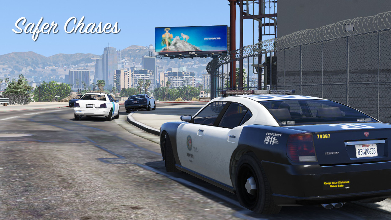Safer Chases for LSPDFR - GTA5-Mods com