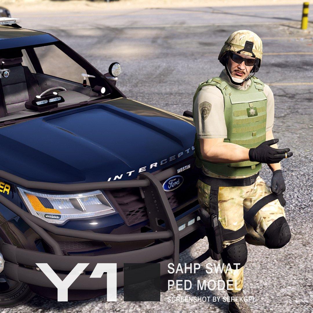 SAHP SWAT Ped Model - GTA5-Mods com