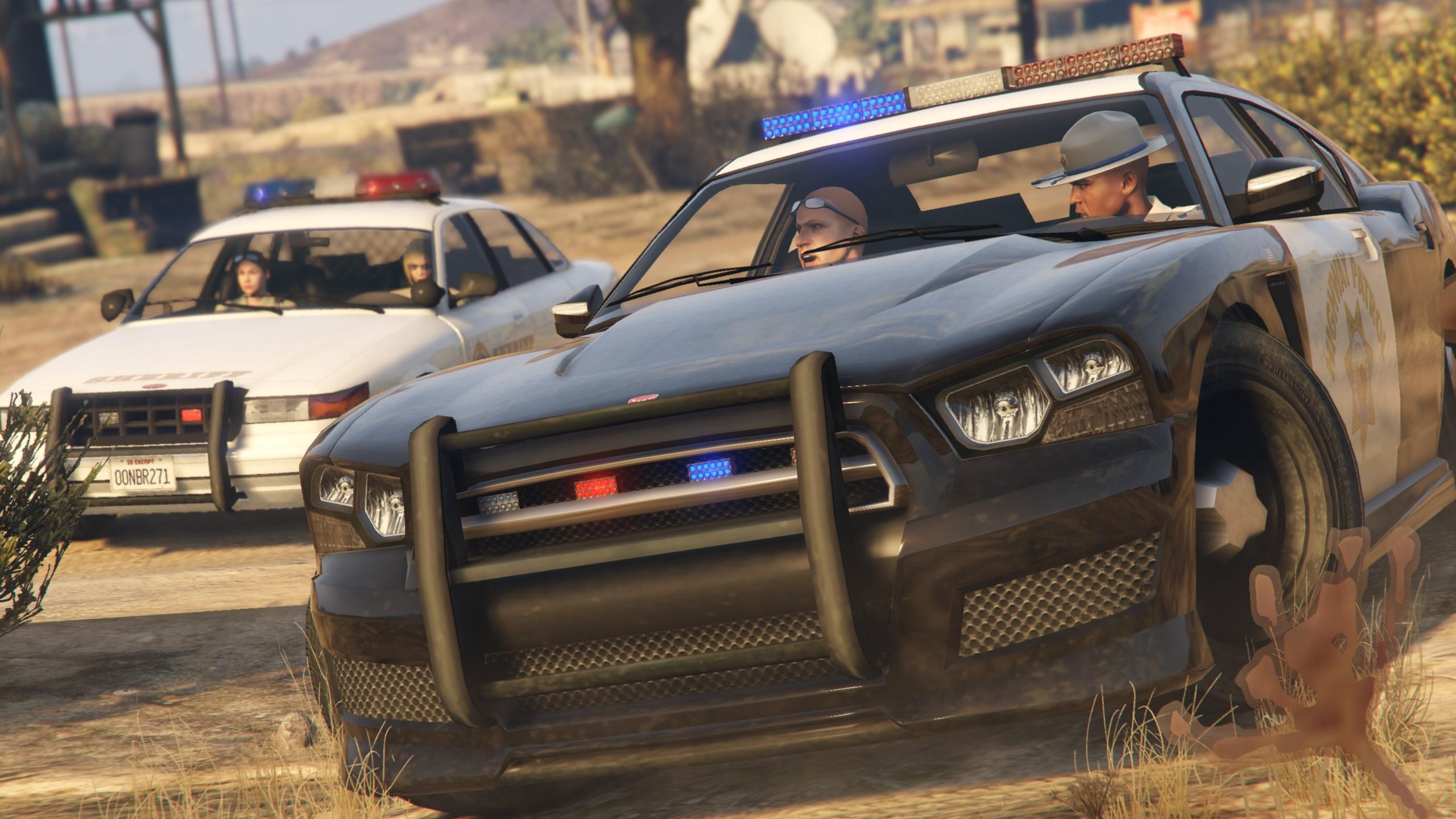 vapid stanier bravado buffalo s san andreas highway patrol gta5
