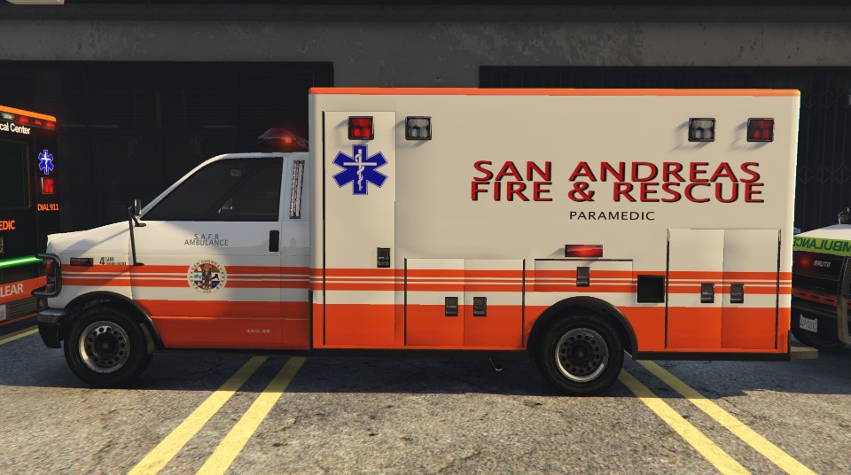 San Andreas Ambulance textures (HD) - GTA5-Mods com