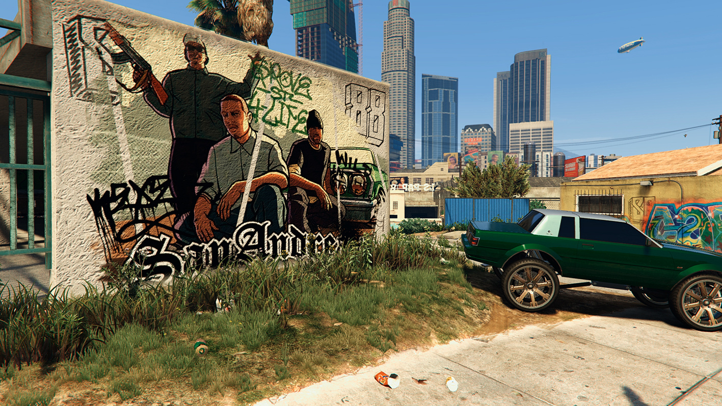 San andreas graffiti