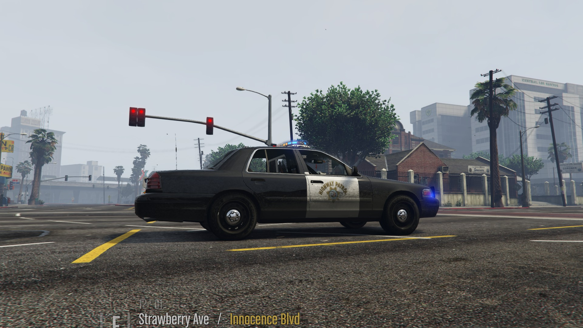 san andreas highway patrol chp themed cvpi gta5 mods com