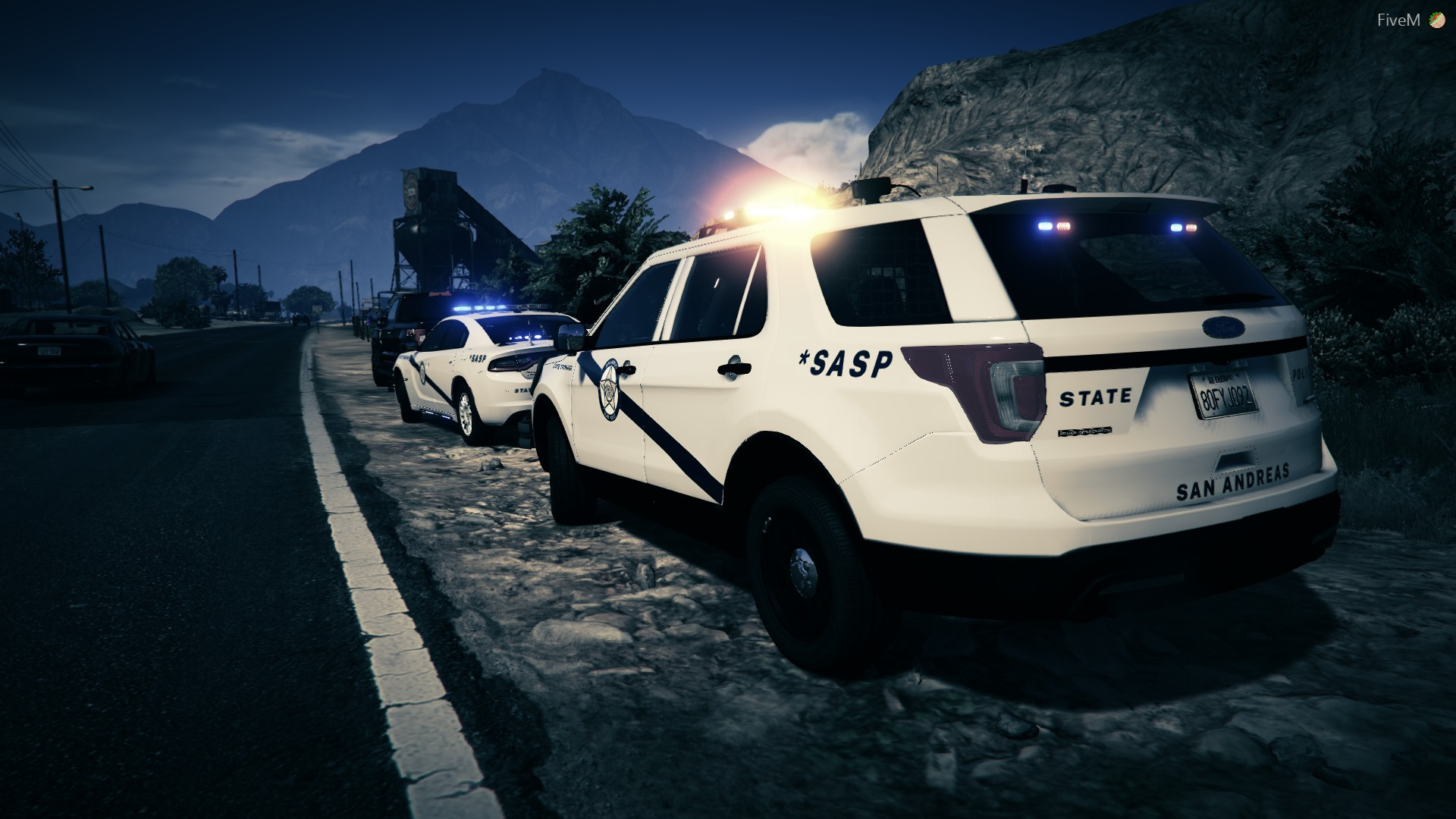 San Andreas State Police Livery [Kentucky Based] - GTA5-Mods com