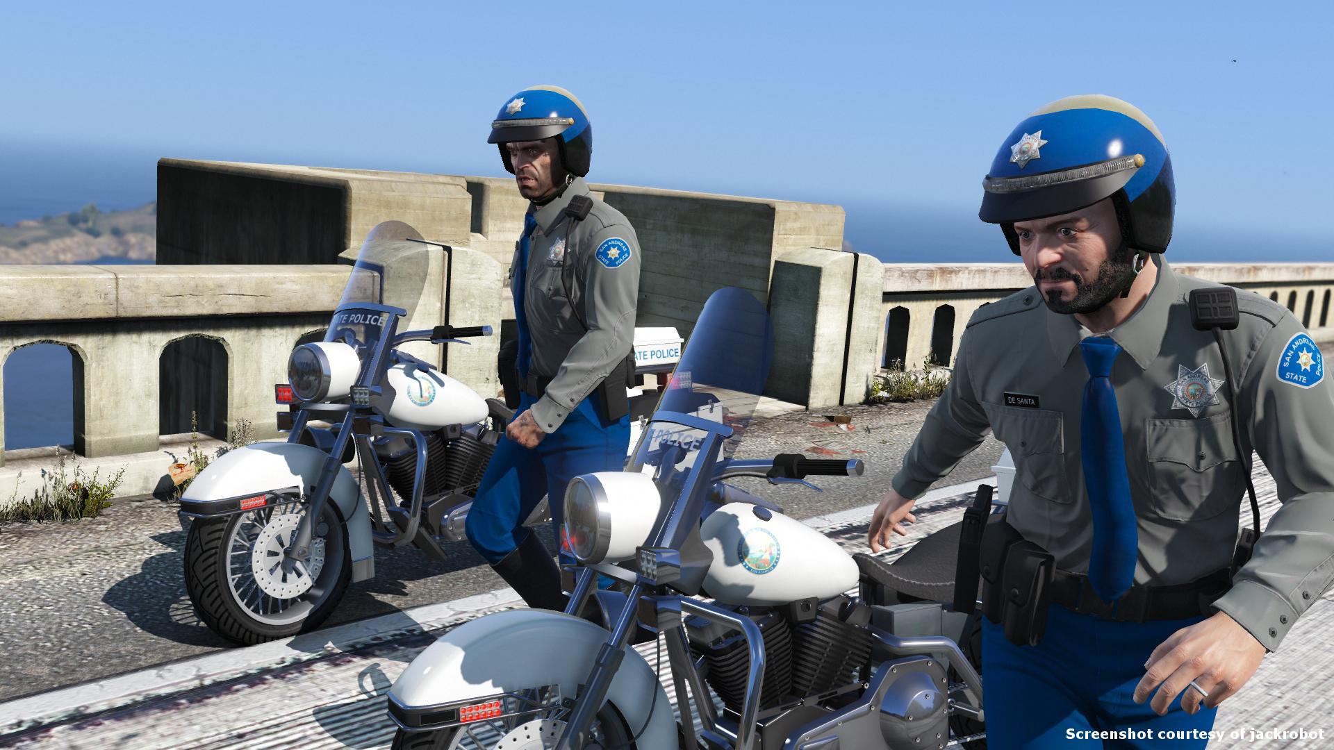 San Andreas State Police Uniform Pack - GTA5-Mods com