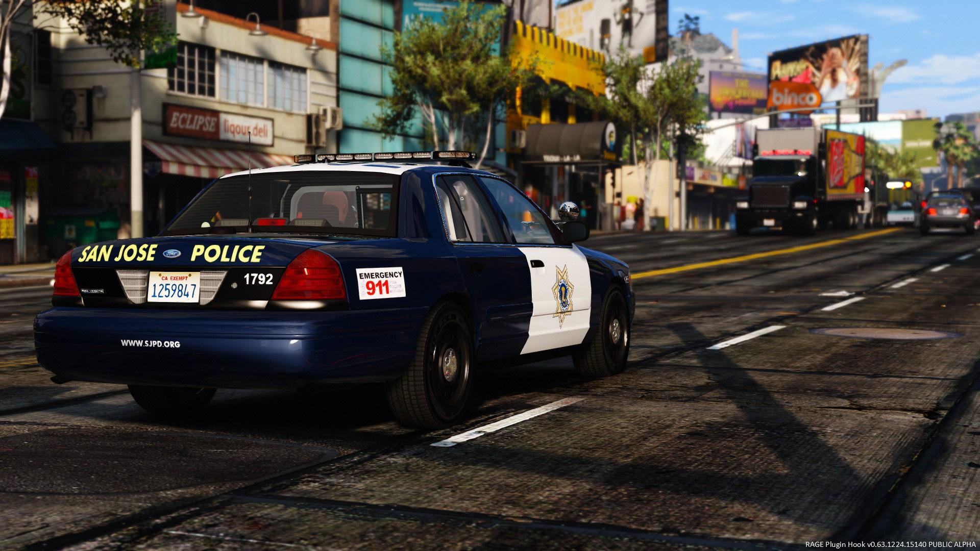 San Jose Police Department Pack - GTA5-Mods com
