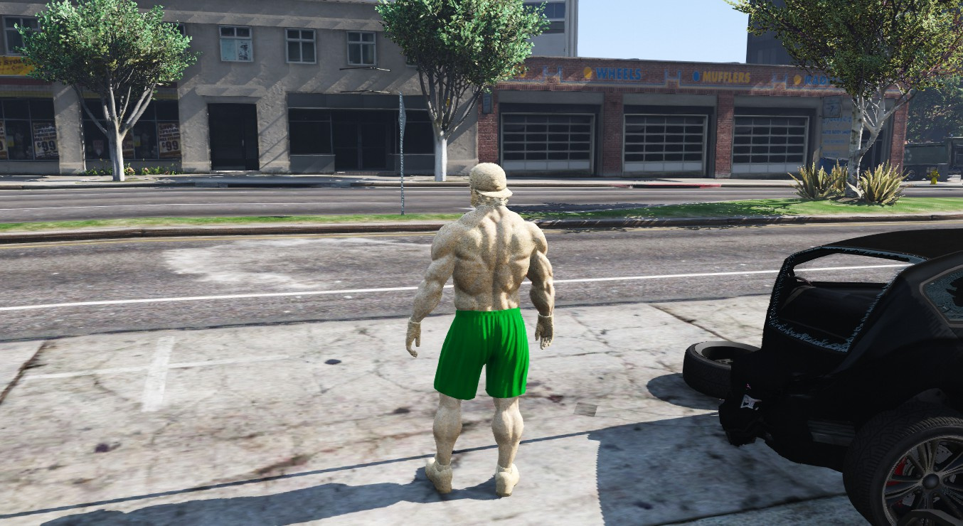 Sandman from Spider-Man 3 - GTA5-Mods.com