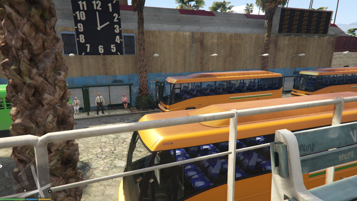 how to ride the bus in gta 5