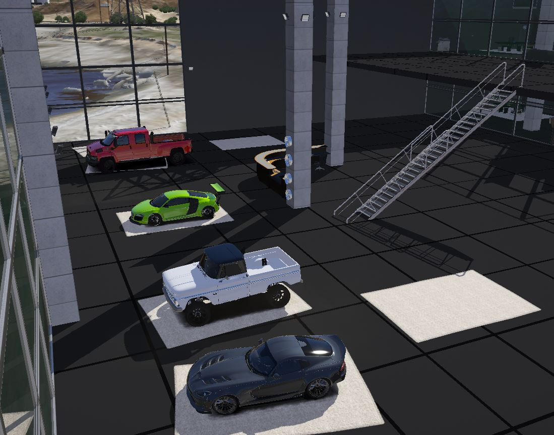 Sandy Shores Dealership [YMAP | FiveM] - GTA5-Mods com