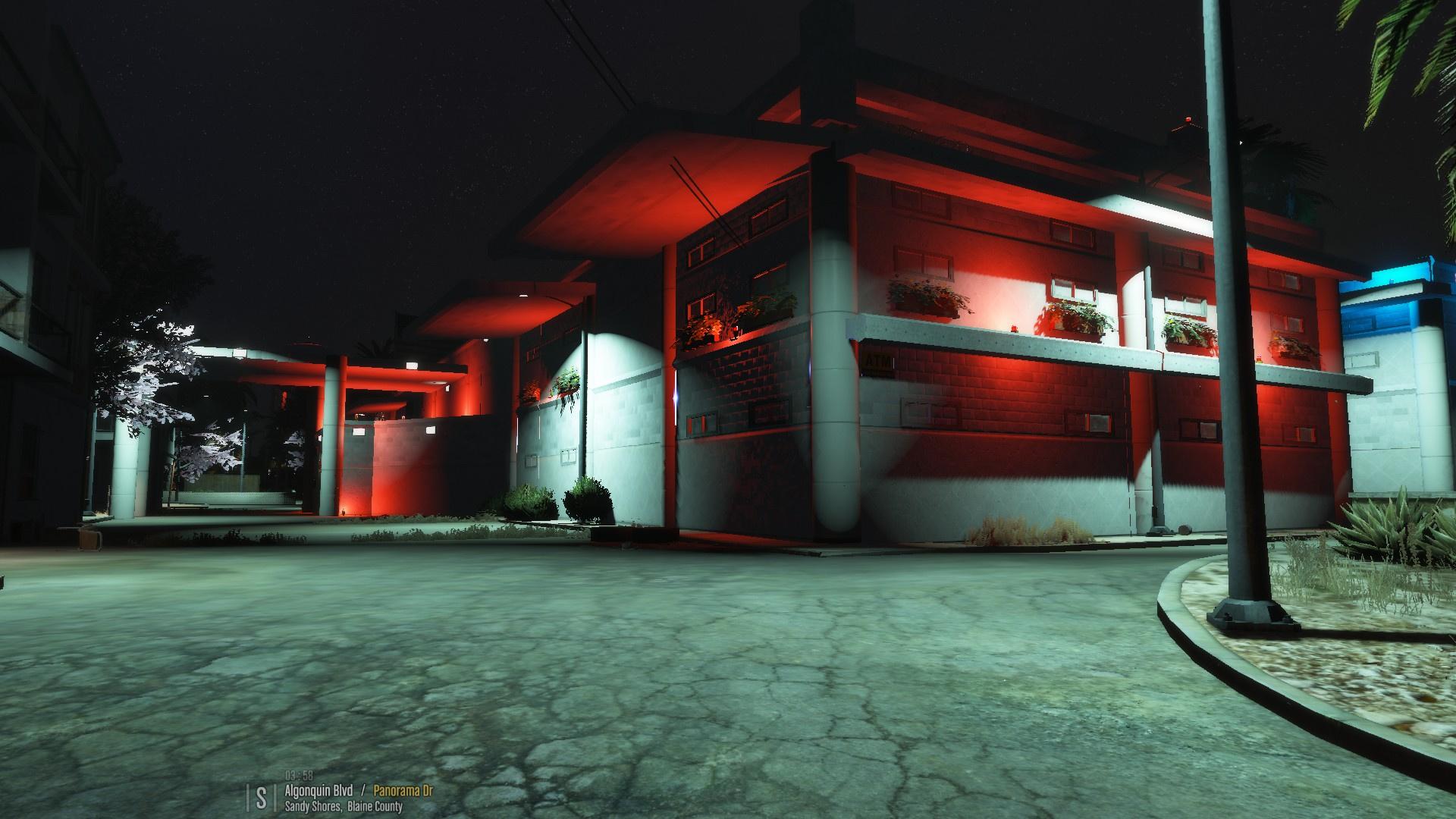 Sandy Shores Motel Remastered Gta5 Mods Com