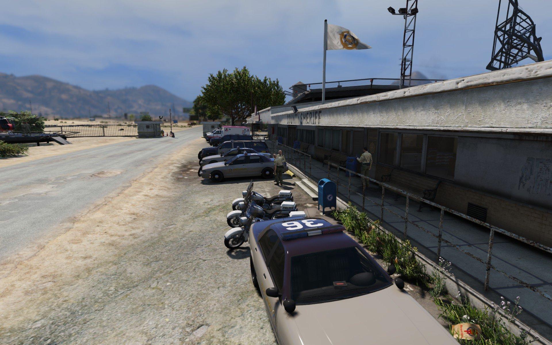 Sandy Shores Police Station Upgrade - GTA5-Mods.com