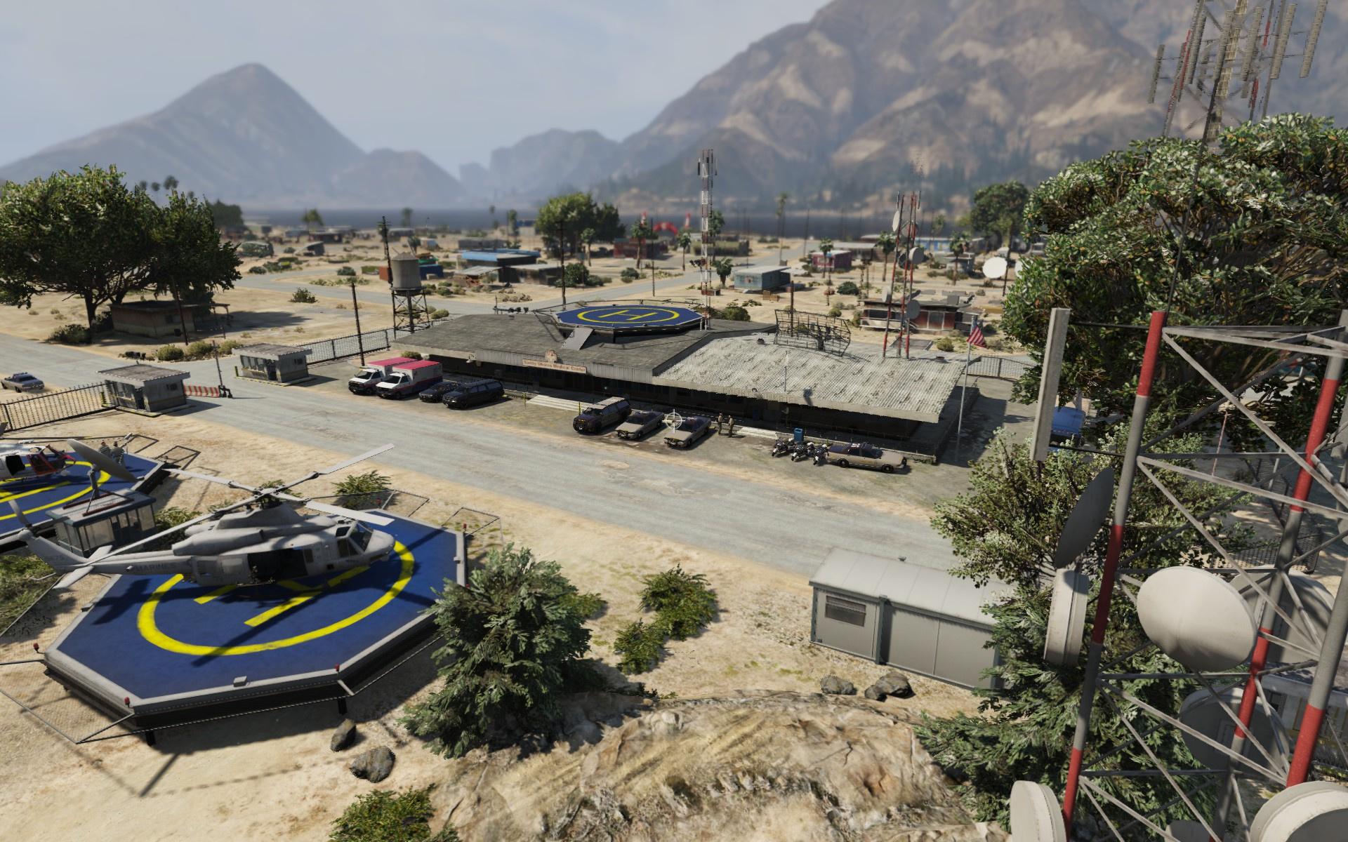 Sandy Shores Police Station Upgrade Gta5 Mods Com