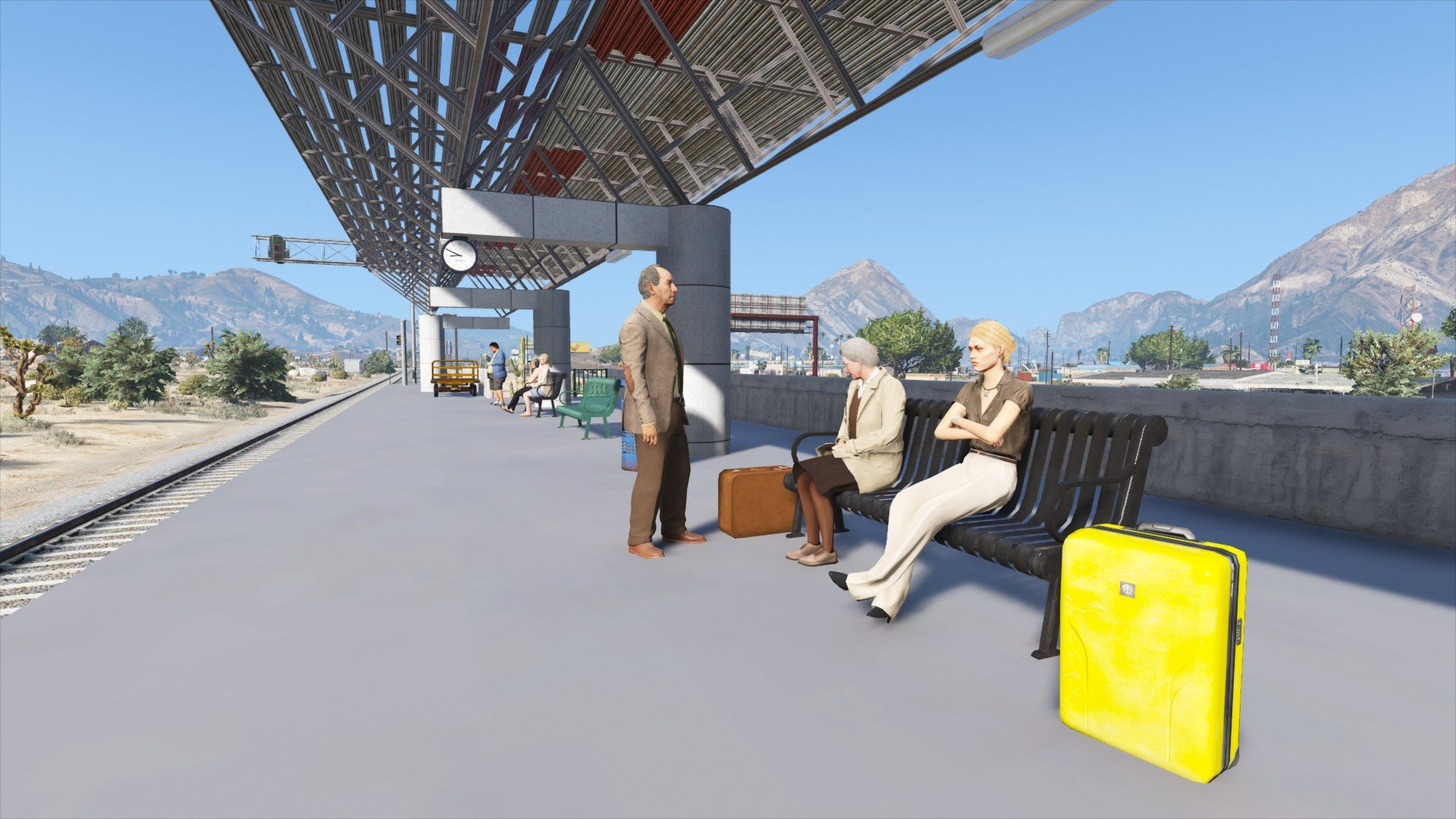 Sandy Shores Train Station - GTA5-Mods.com