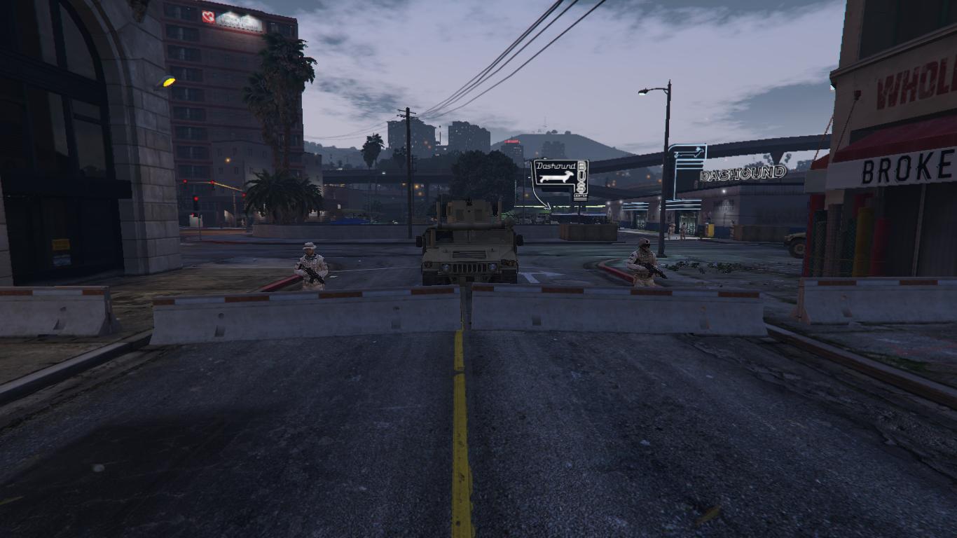 Santos Zombie City Evacuation - GTA5-Mods.com