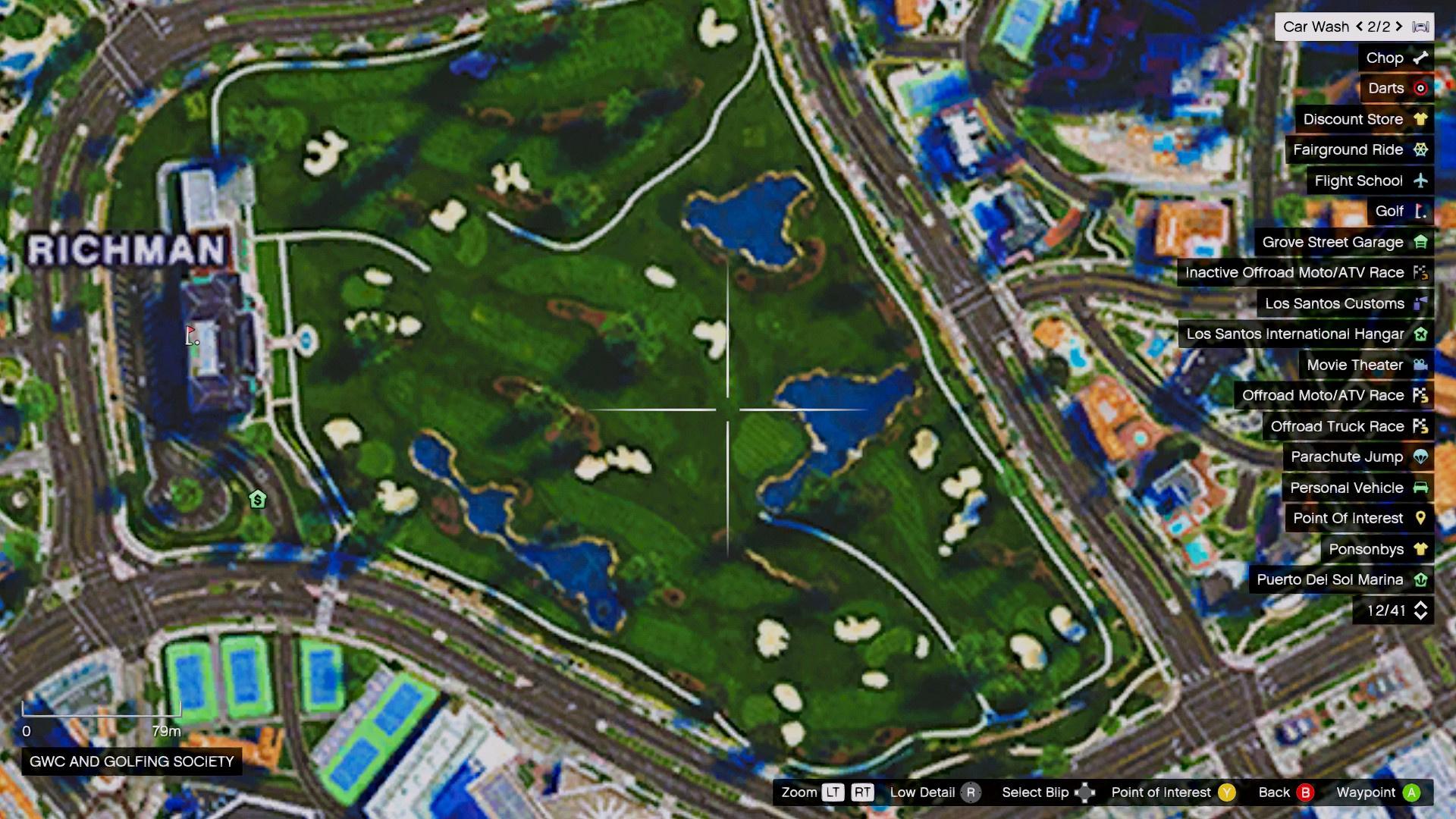 4K Satellite View Map bundled with radar mod & zoom script