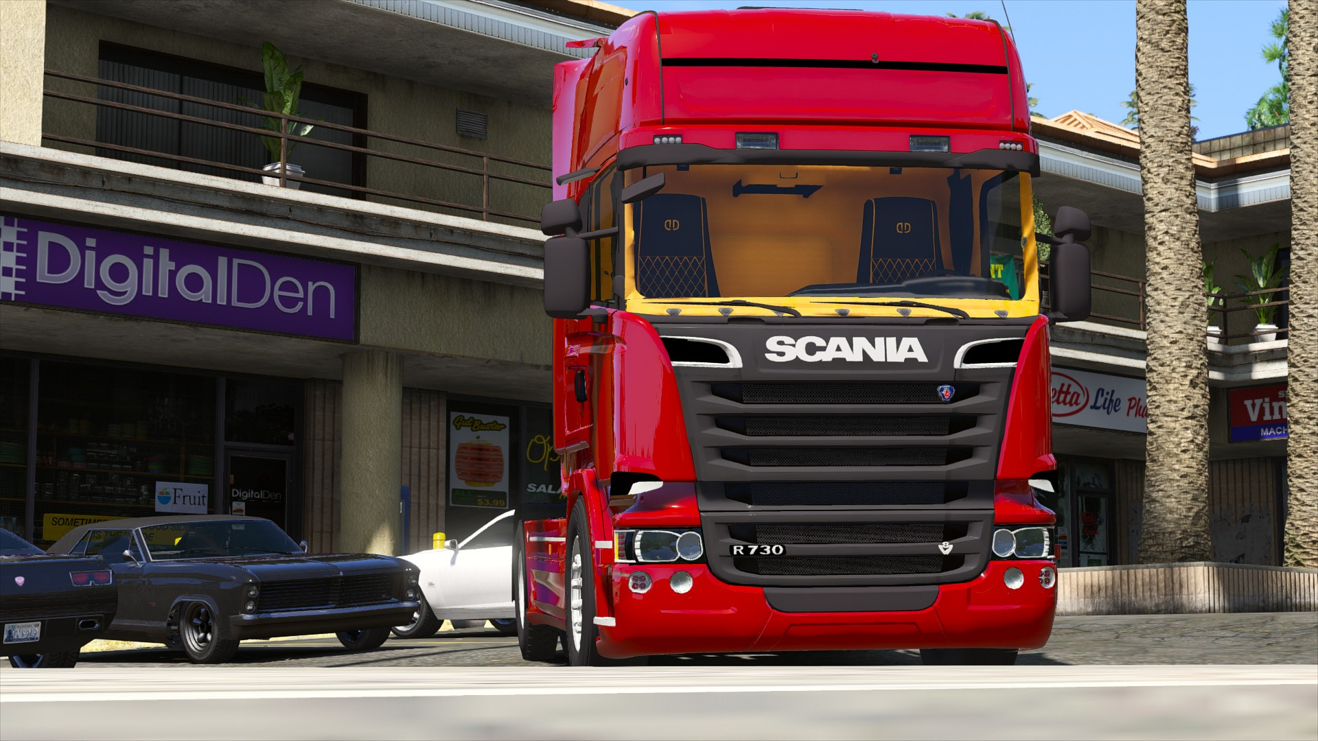 Scania R730 Streamline 4x2 Gta5 Mods Com