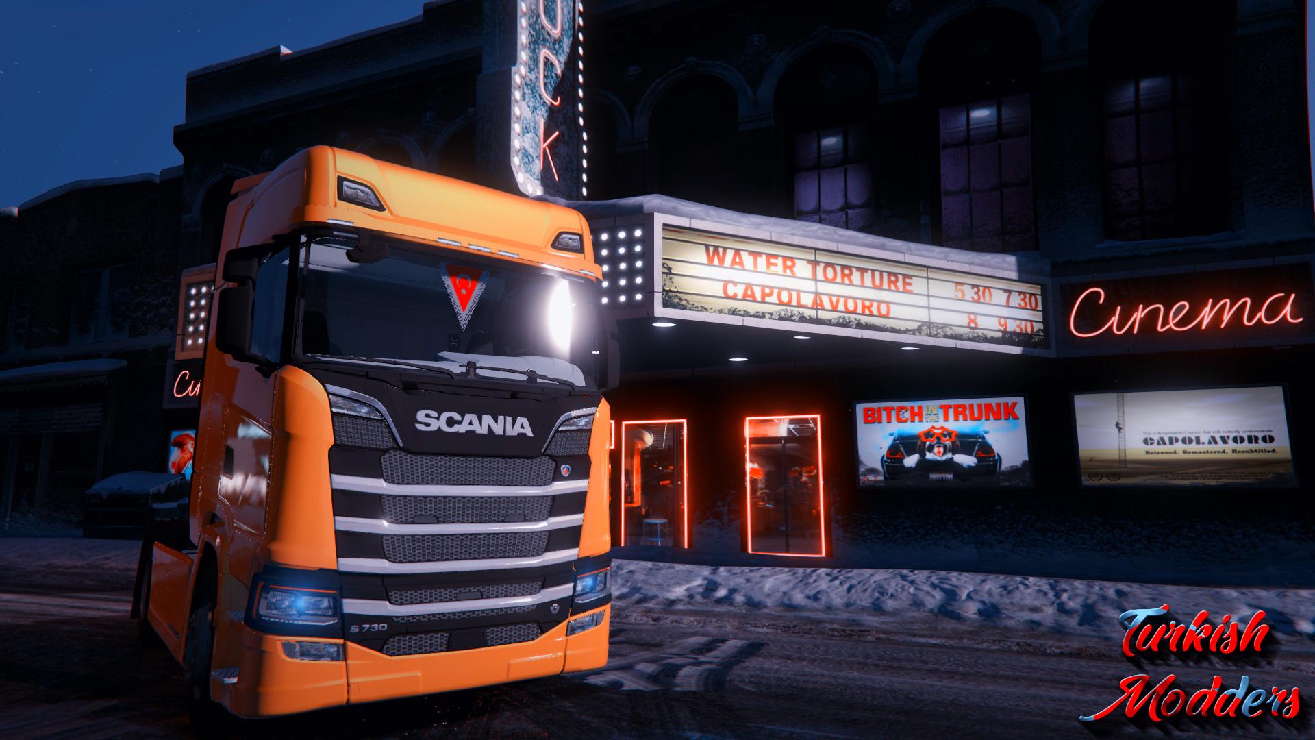 Scania S730 - GTA5-Mods com