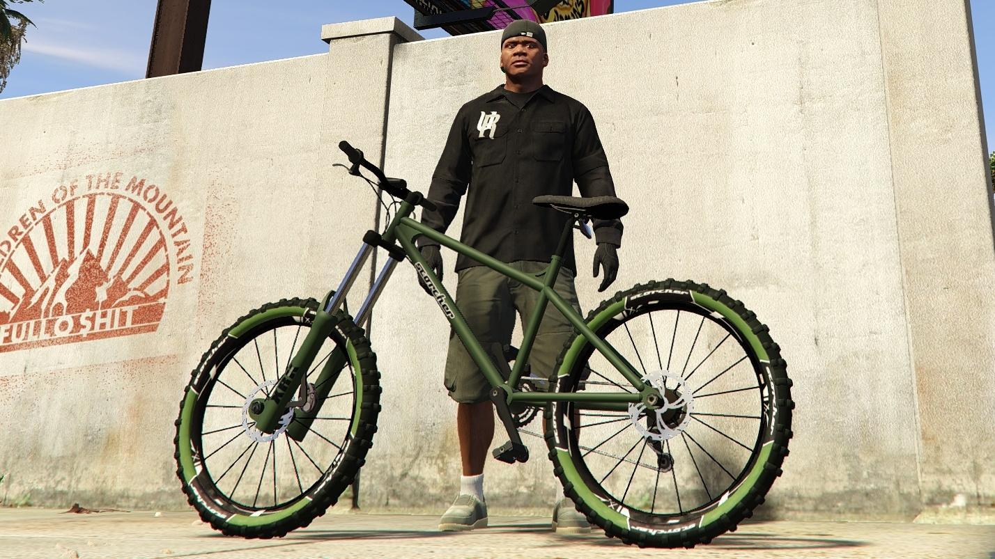 Scorcher (Mountain Bike) - Tire Color & Handling - GTA5-Mods.com