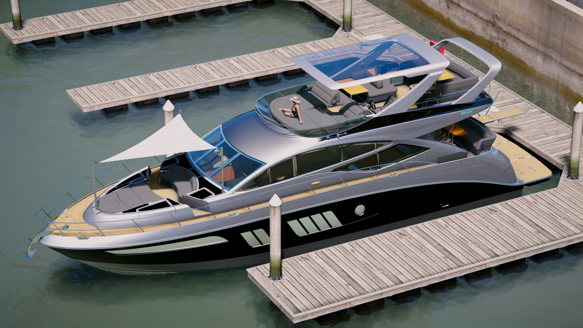Sea Ray 650 fly