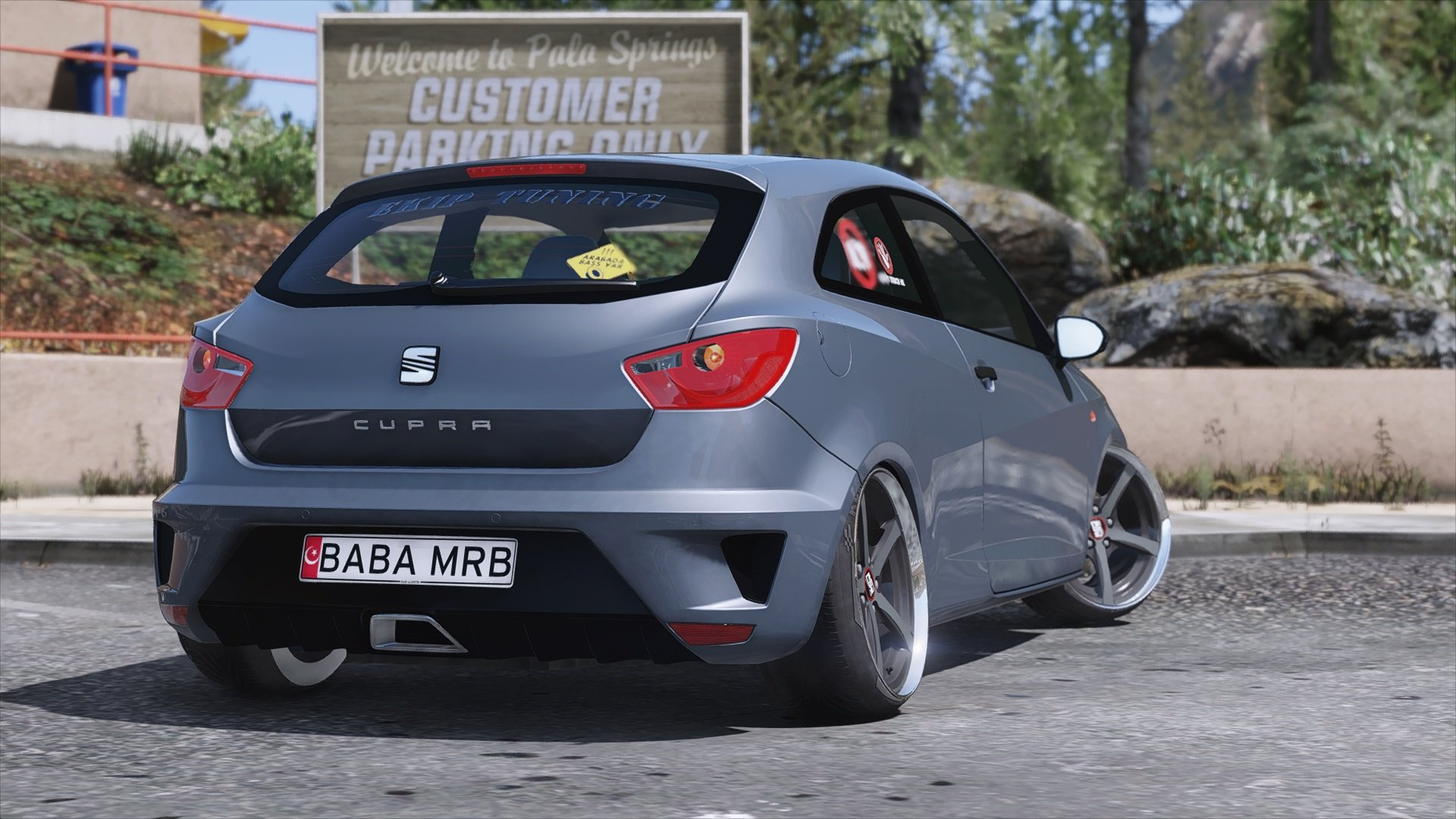 seat ibiza cupra replace gta5. Black Bedroom Furniture Sets. Home Design Ideas