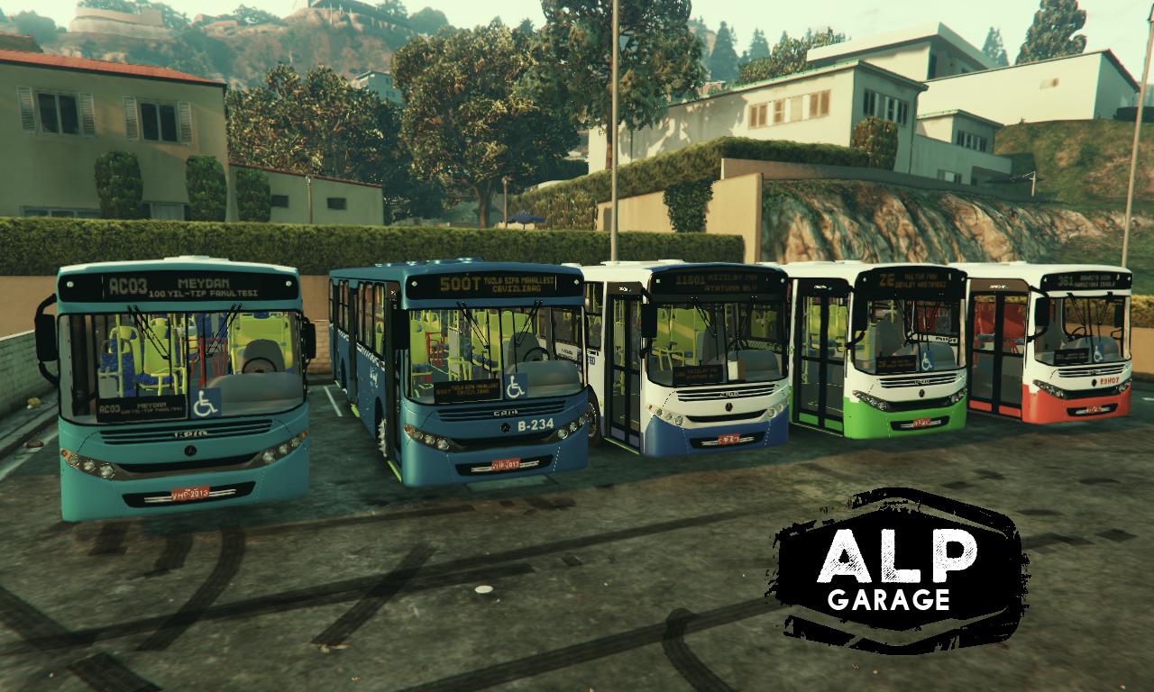 4a4148 Şehir İçi halk otobüsleri pack (4)