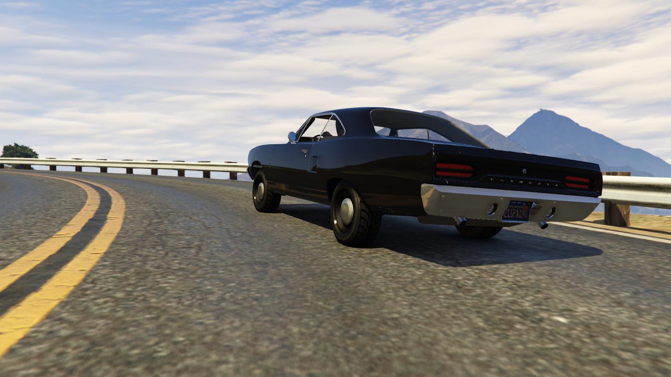 Handling and Top Speed For 1970 Roadrunner - GTA5-Mods.com