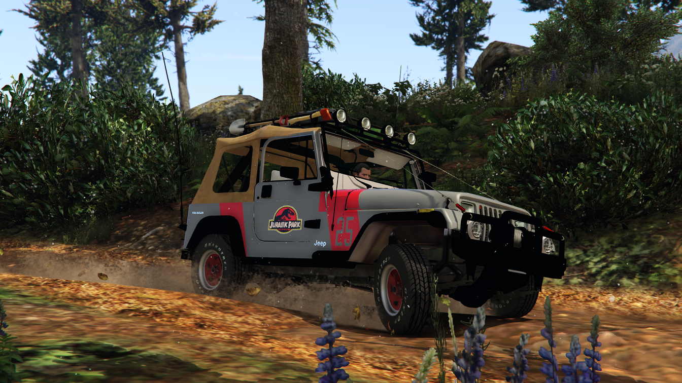 Realistic Handling for Hilux5577 s Jeep Wrangler add on