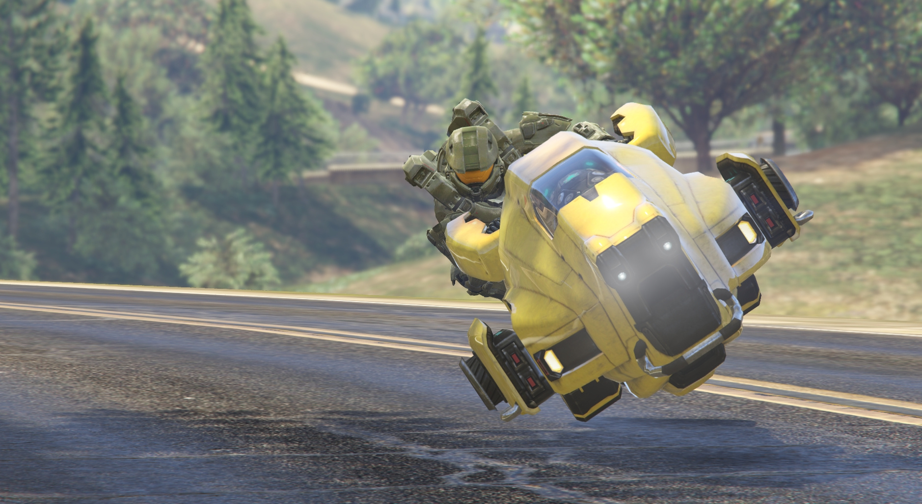 Sci-Fi Hover Bike [Add-On / Replace beta   Livery] - GTA5