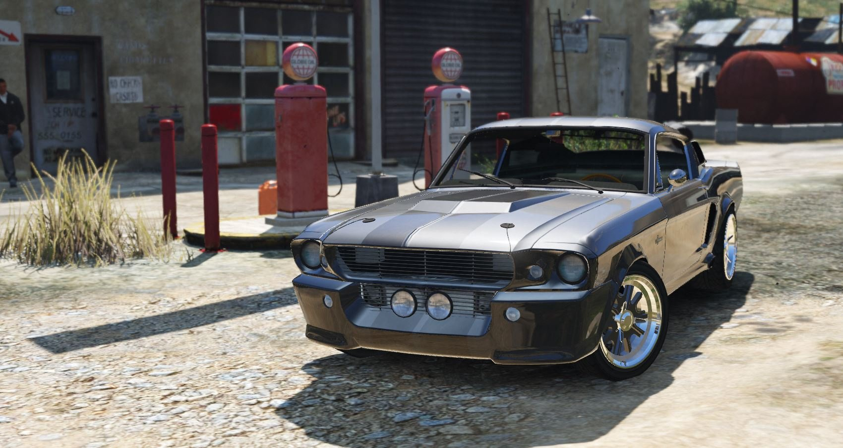 Shelby GT500 Eleanor Add-On - GTA5-Mods.com