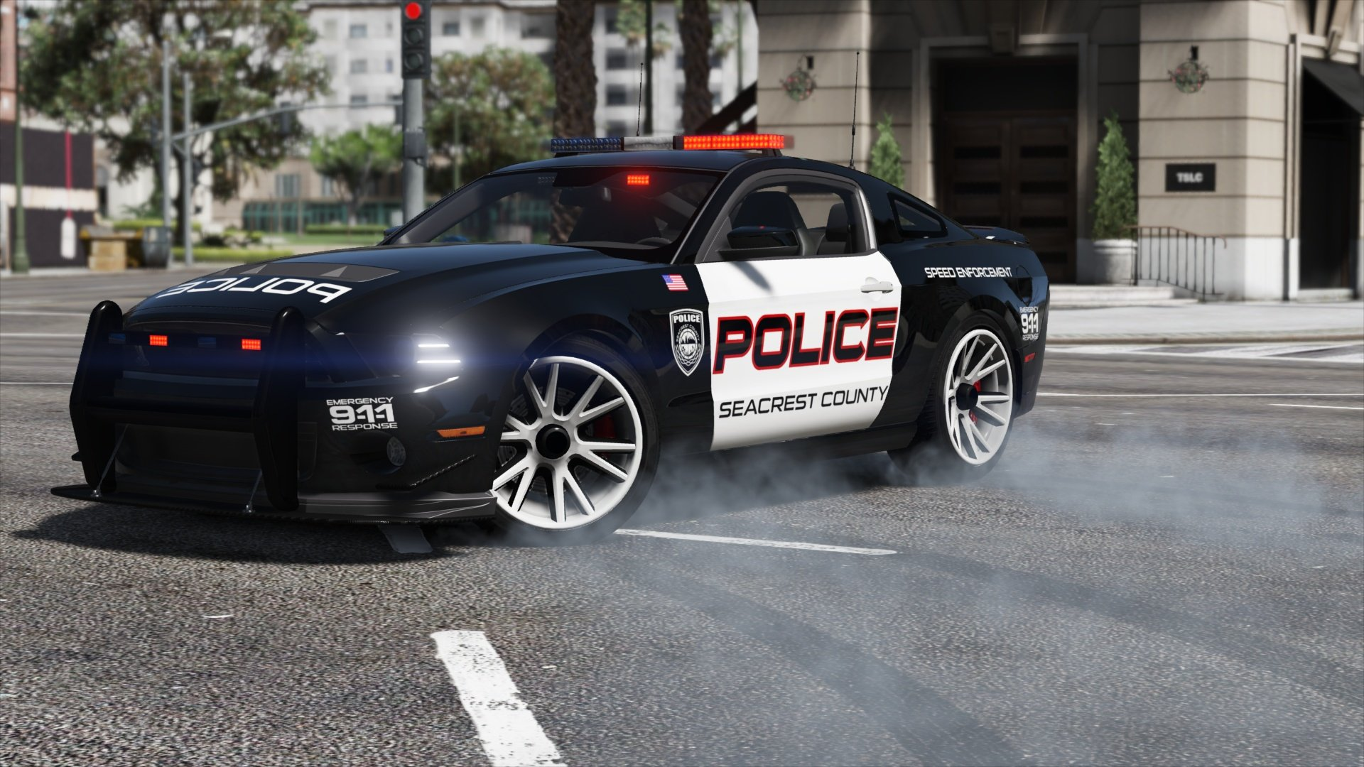 Ford Shelby GT500 Hot Pursuit Police Add Replace
