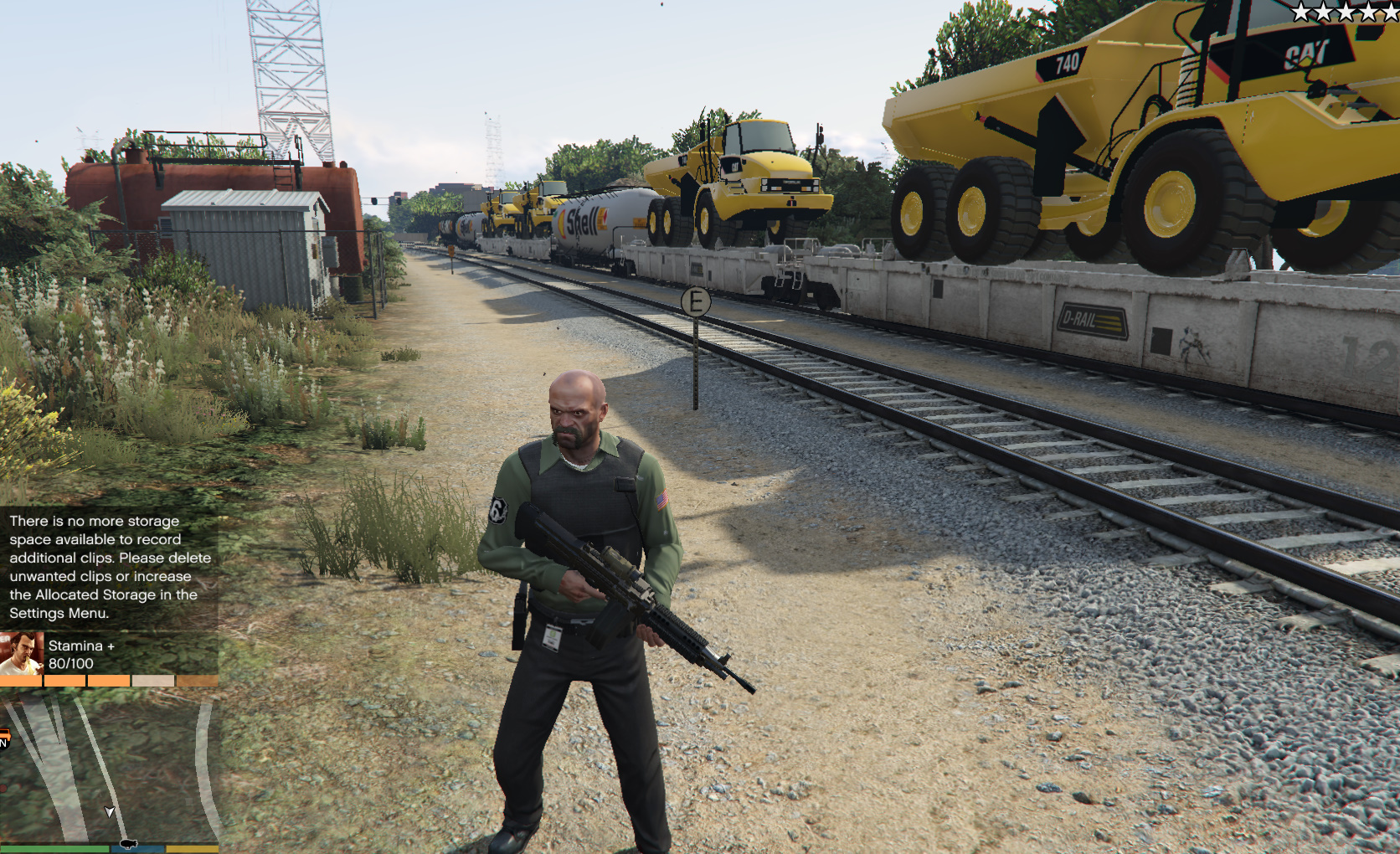how to drive a train in gta 5
