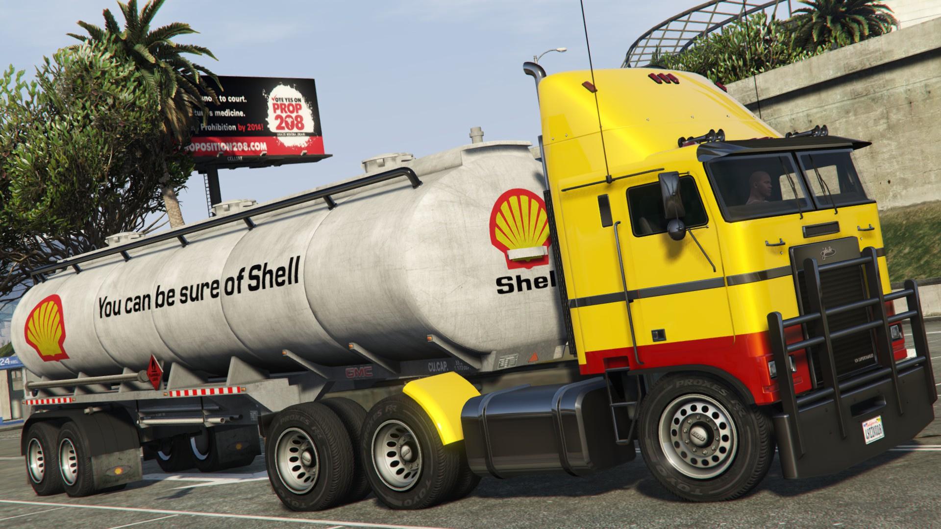 Shell Texaco Esso Amp Chevron Trailer Tanker Gta5 Mods Com