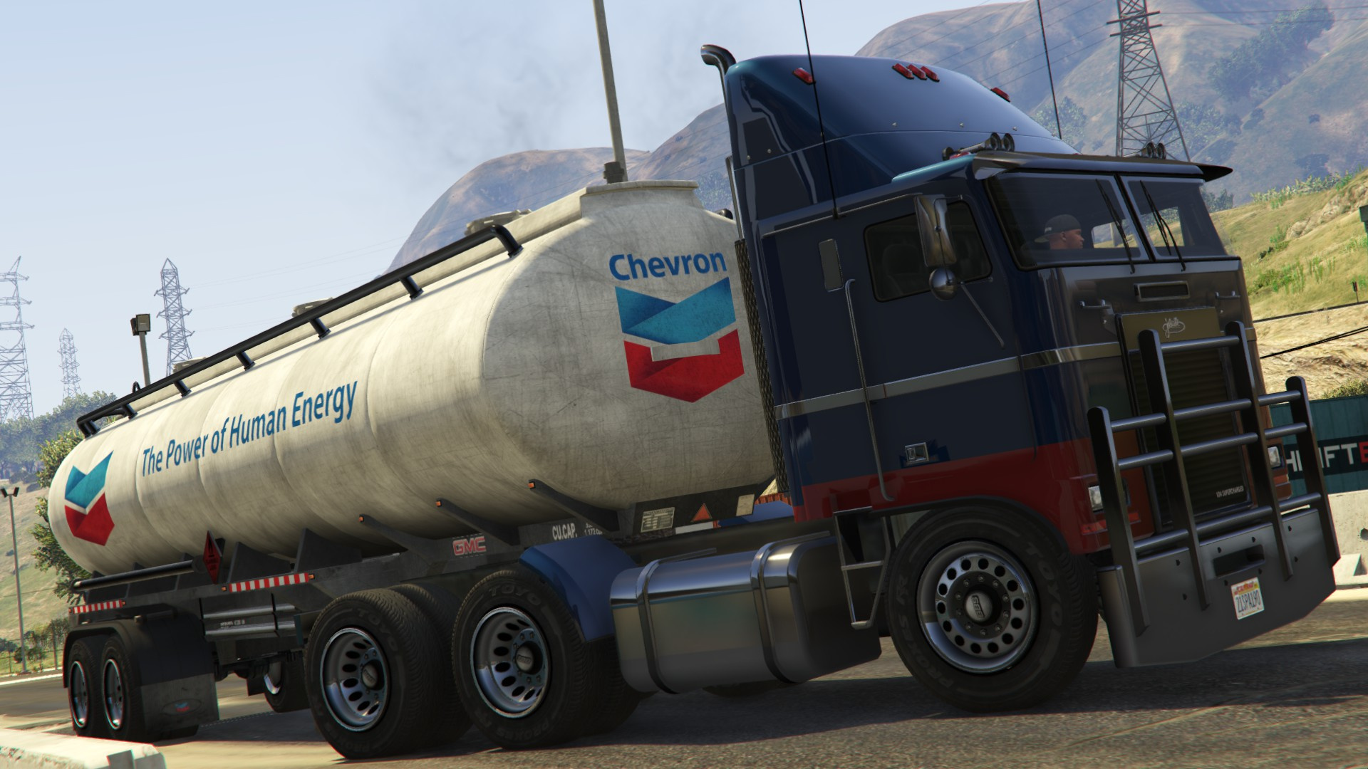 shell texaco esso chevron trailer tanker gta5. Black Bedroom Furniture Sets. Home Design Ideas