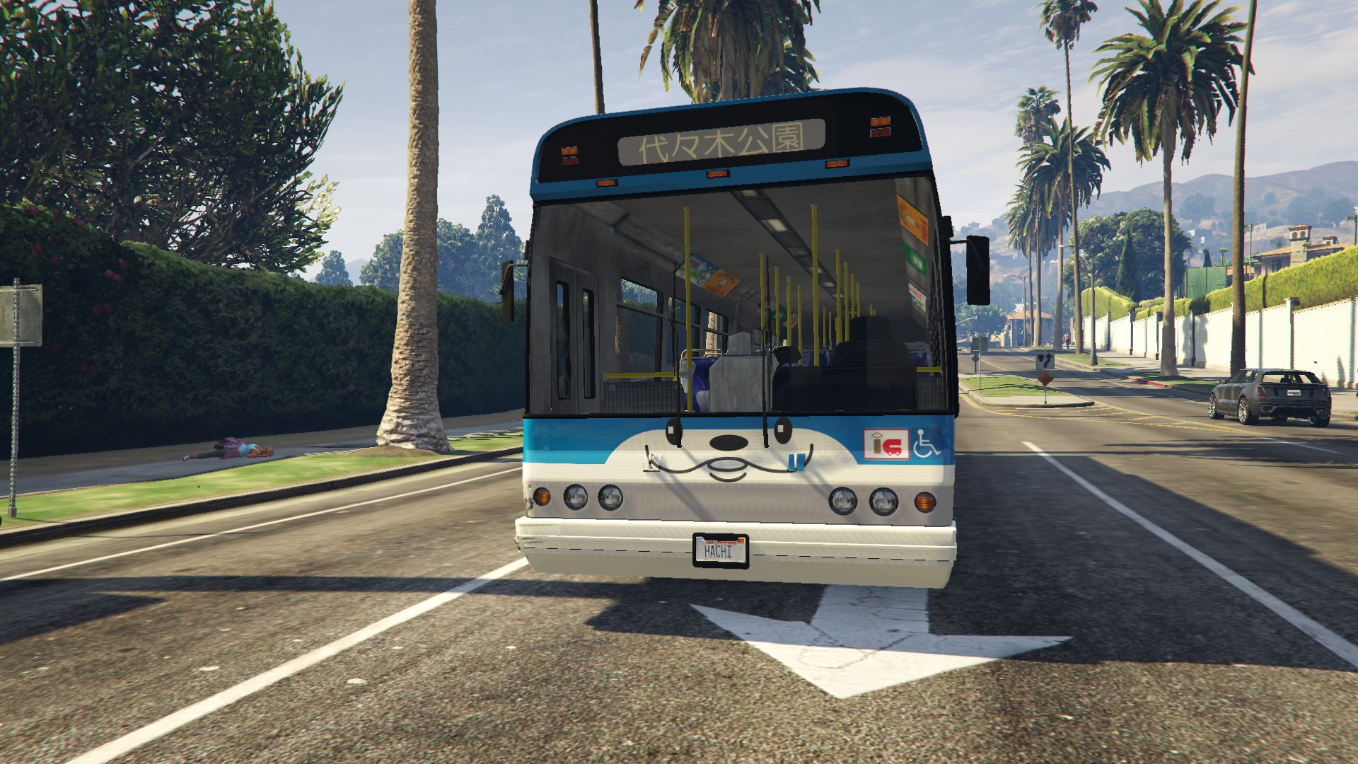 Shibuya Hachiko Bus Skin - GTA5-Mods com