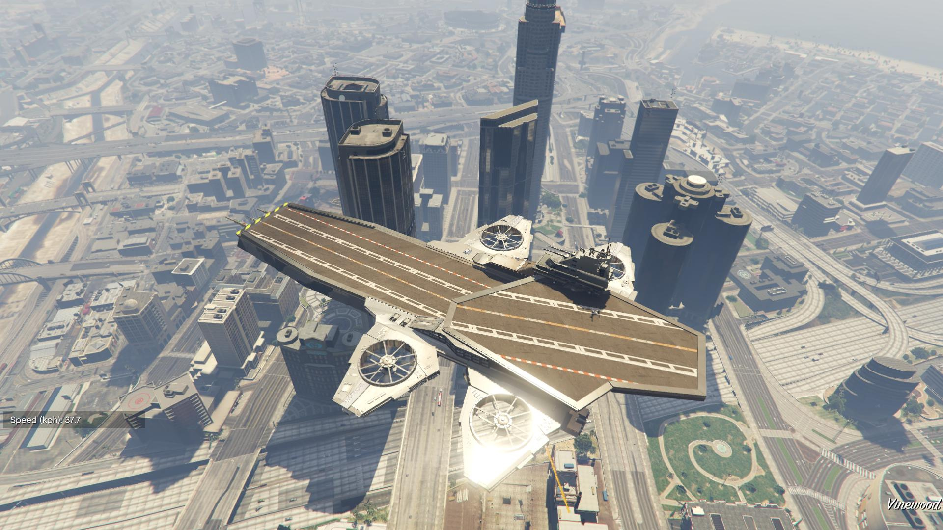 S.H.I.E.L.D. Helicarrier for Titan [Add-On / Replace ...