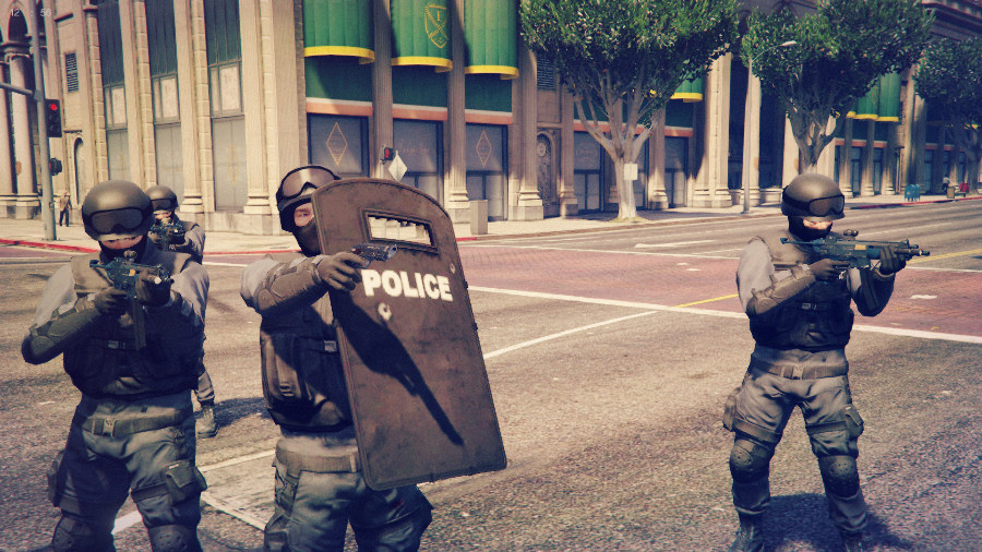 Shield Mod - GTA5-Mods com