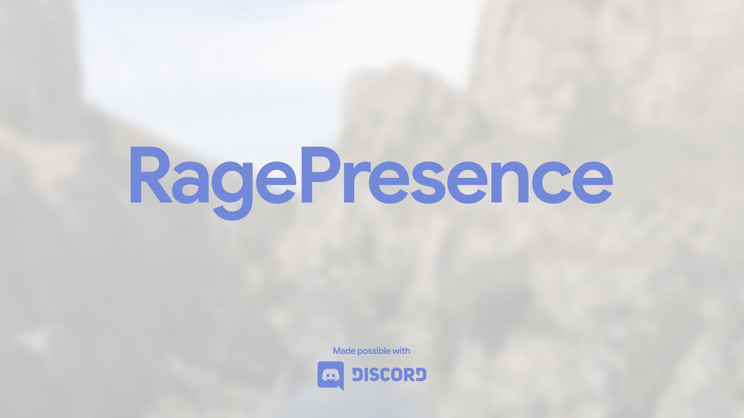 RagePresence - Discord Rich Presence Support [ NET] - GTA5-Mods com